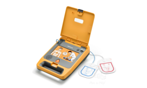 Mindray BeneHeart C1A AED open